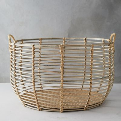 Rattan Wire Basket
