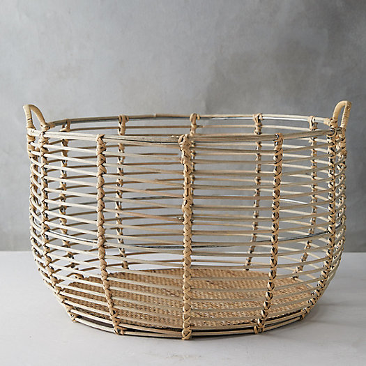 View larger image of Rattan Wire Basket
