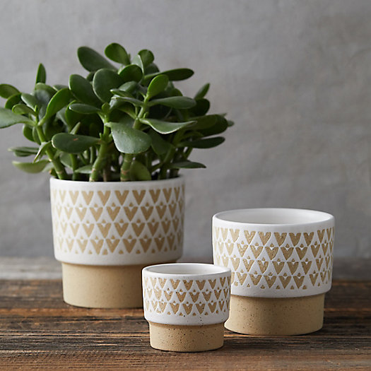 View larger image of Chevron Banded Pot