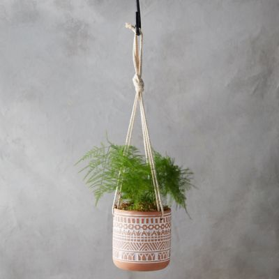Geometric Hanging Planter