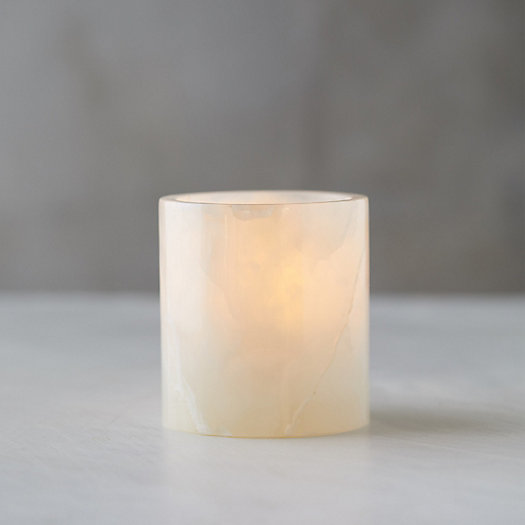 View larger image of Onyx Votive Holder