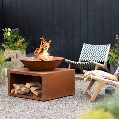 Square Bowl Fire Pit