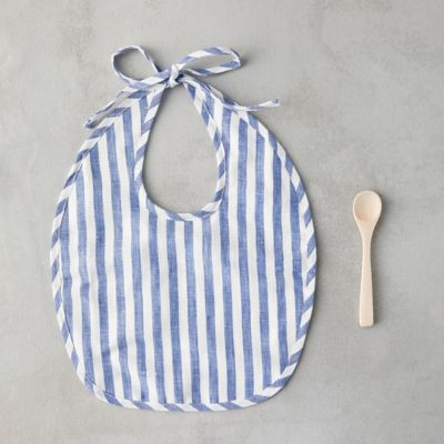 Baby Bib + Spoon Set