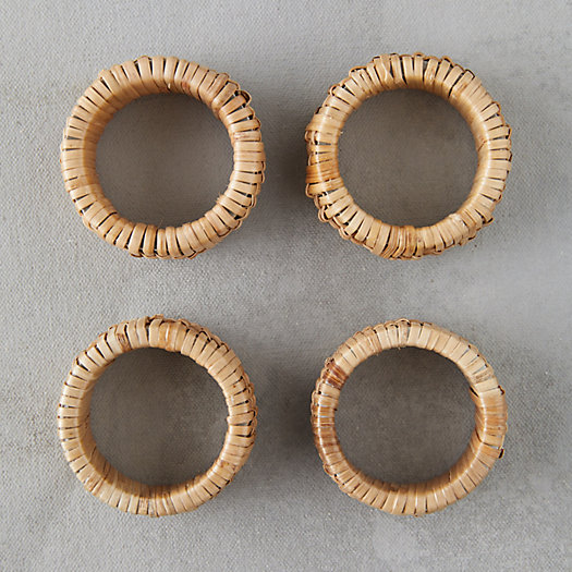 View larger image of Rattan Napkin Rings