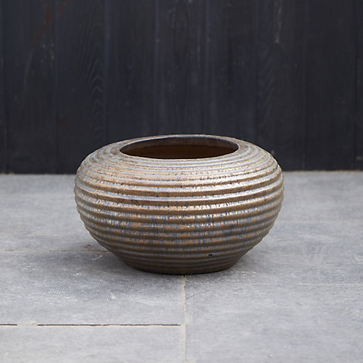 View larger image of Ridged Earthenware Bowl