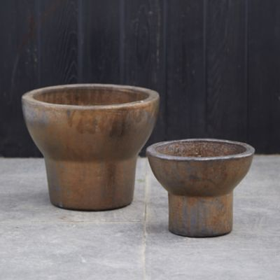 Copper Earthenware Planter