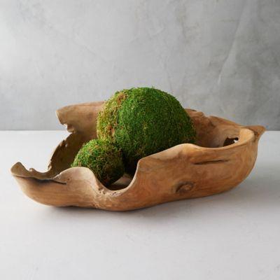 Extra Large Teak Bowl