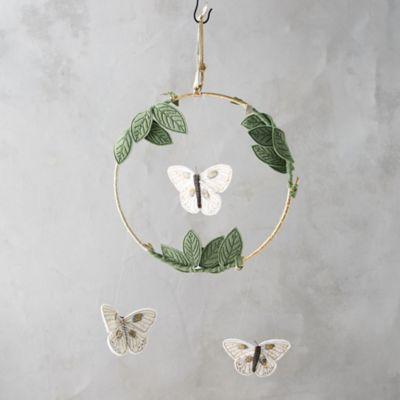 Luna Moth Mobile