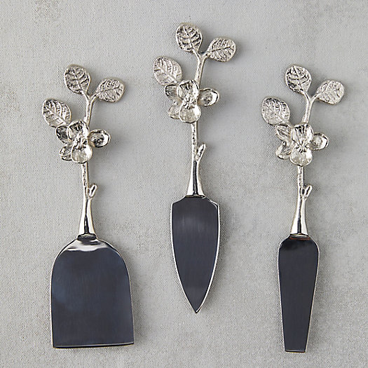 View larger image of Blossom Cheese Knife Set