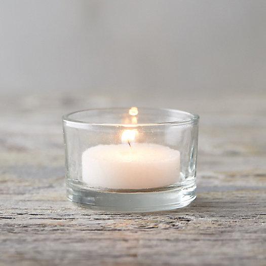 View larger image of Short Glass Tea Light Holder