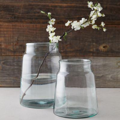 Glass Vault Vase