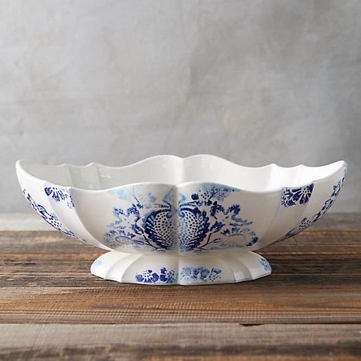View larger image of Chinoiserie Footed Bowl, Large