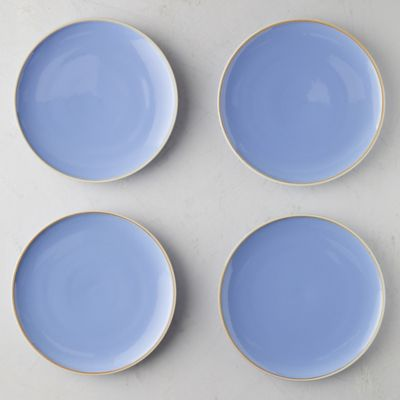 Raw Edge Porcelain Plate Set