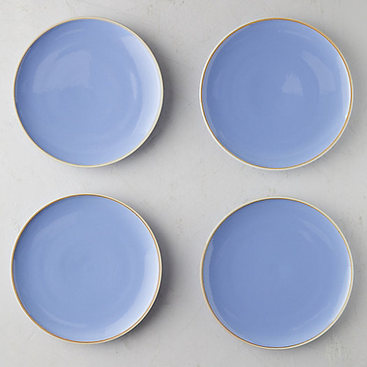 View larger image of Raw Edge Porcelain Plate Set