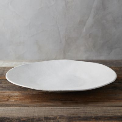 Raw Ceramic Serving Platter
