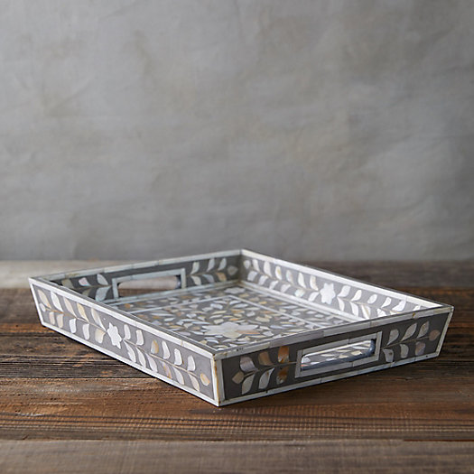 View larger image of Mother of Pearl Serving Tray