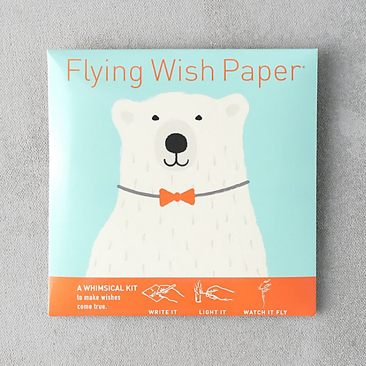 View larger image of Flying Wish Papers, Polar Bear