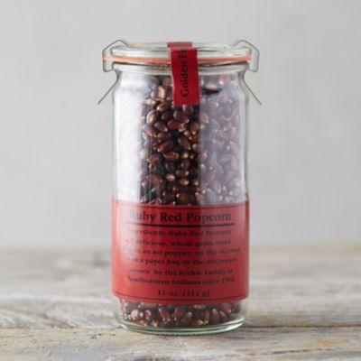 Ruby Popcorn Kernels in Weck