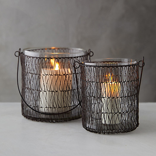 View larger image of Wire-Wrapped Hanging Votive