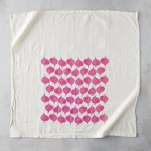 View larger image of Red Onion Tea Towel