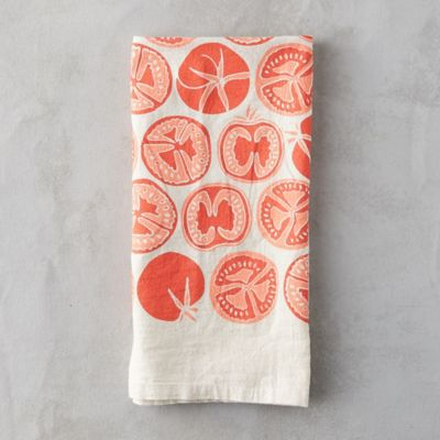 Red Tomato Tea Towel