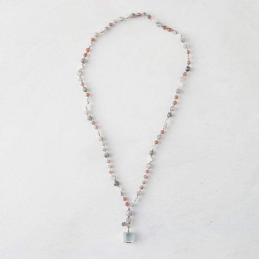 View larger image of Quartz Locket Necklace