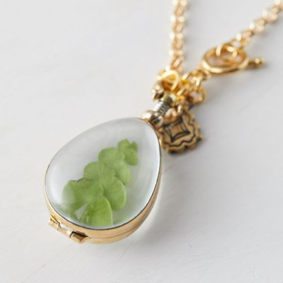 Pendant Locket Necklace