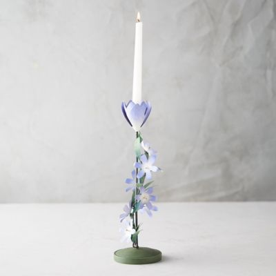 Climbing Flower Taper Holder