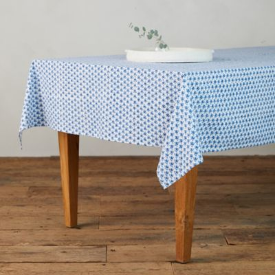 Indigo Tree Tablecloth