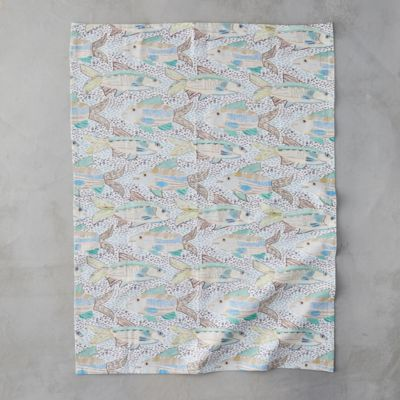 Speckled Fish Tea Towel