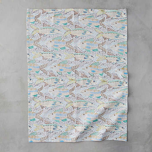 View larger image of Speckled Fish Tea Towel
