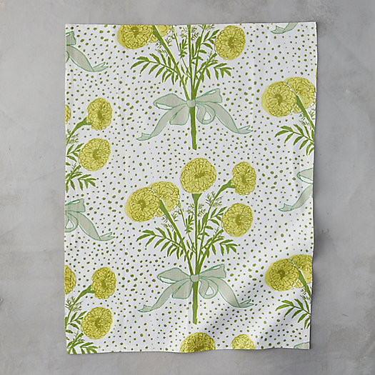 View larger image of Yellow Bouquet Tea Towel