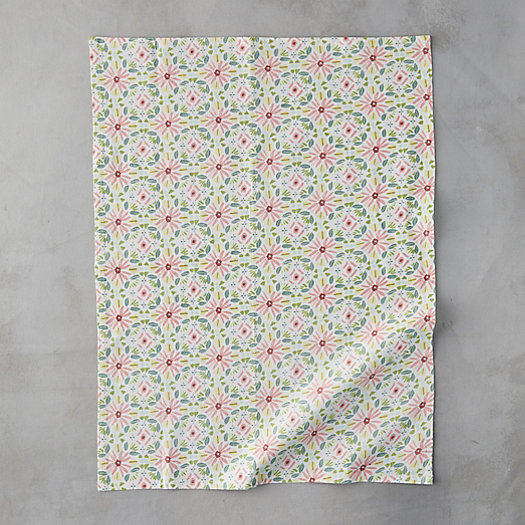 View larger image of Pink Daisy Tea Towel