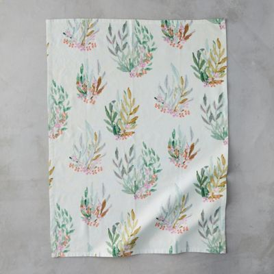 Leaf + Bloom Tea Towel