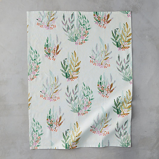 View larger image of Leaf + Bloom Tea Towel