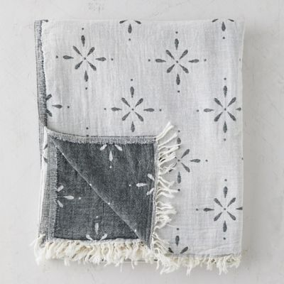 Pheobe Turkish Cotton Throw