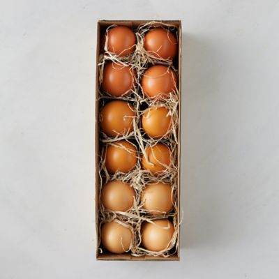 Dozen Ombre Painted Eggs