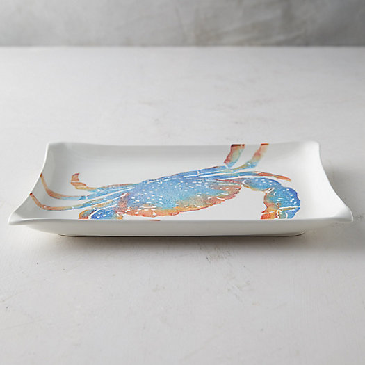 View larger image of Crab Earthenware Serving Platter