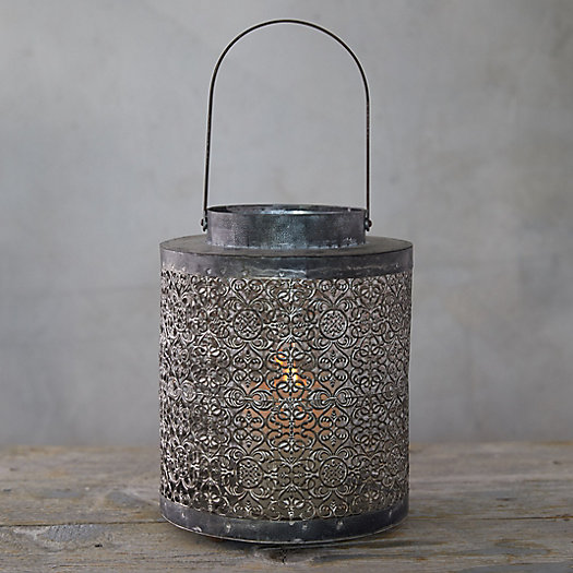 View larger image of Punched Tin Lantern