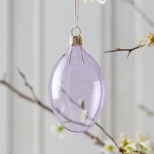 View larger image of Colorful Glass Egg Ornament
