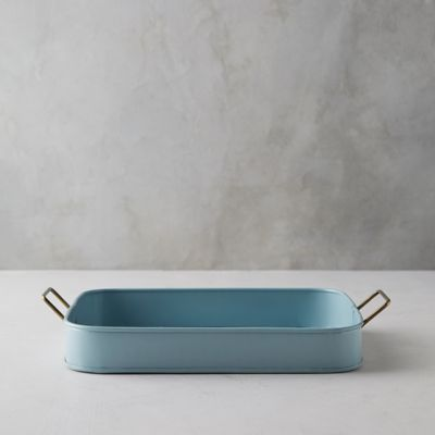 Blue Iron Serving Tray