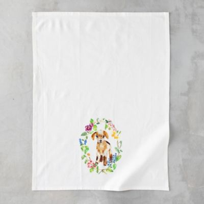 Woodland Critter Tea Towel