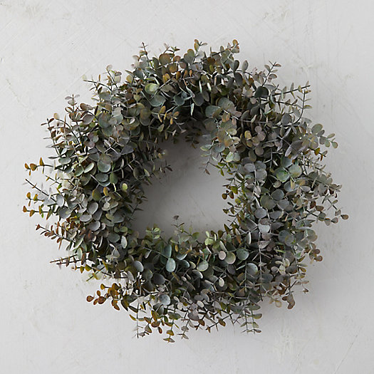 View larger image of Faux Eucalyptus Wreath