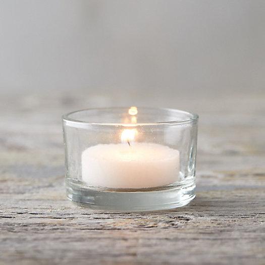 View larger image of Short Glass Tea Light Holder Set