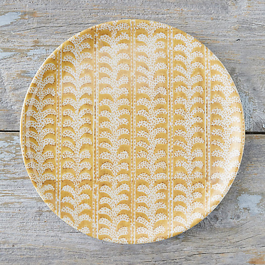 View larger image of Color Burst Melamine Plate