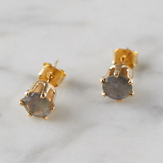 View larger image of Oversize Labradorite Stud Earrings
