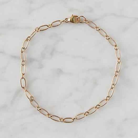 View larger image of Gold Link Bracelet