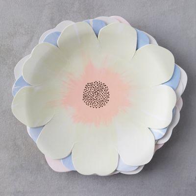 Flower Garden Paper Plates