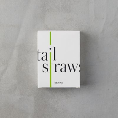 Glass Cocktail Straws