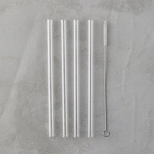 View larger image of Glass Smoothie Straws